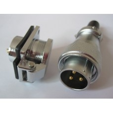 High quality XLR connector with IP44 Waterproof